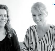 Daniela Chikato (Geschäftsführerin) und Nina Höppner (Marketingleiterin) von projektwerk